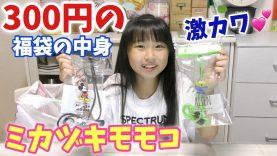 全品300円ミカヅキモモコでお買い物!福袋も買ったら中身が超お買い得でビックリ♪プールへ行く時の必需品も!