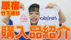 【ETUDEHOUSE】竹下通りの購入品を紹介します!【クレアーズ】