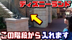 【ディズニーランド豆知識まとめ】夏休みで混雑する東京ディズニーシーで入場ゲートを並ばずに階段から入ってみた! ファンタジースプリングスで話題のTokyo DisneySea【しほりみチャンネル】