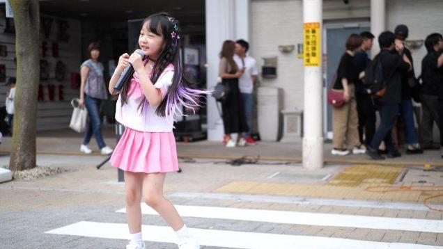 2019-07-07 甲府七夕祭り(かすがもーる通り) FUJI SAKURA塾 もあ 『手を握って歩きたい』