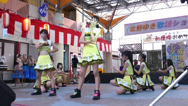 IM Zip(アイムジップ) 「IM Zip ism」 千成地蔵七夕祭り かみて固定カメラ 2019年7月28日