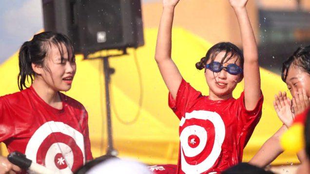 SCK GIRLS アイドル水かけ祭り2019in 北上アメリカンワールド (岩手)
