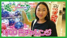 【1000円チャレンジ】モーリーファンタジーでクレーンゲーム