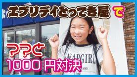 ママとクレーンゲーム1000円対決❣エブリデイとってき屋