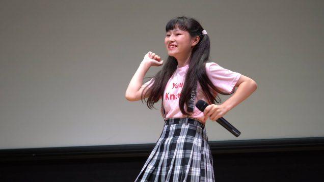 【4K】葉月ゆんな(ホワイトキャンパス) JS&JCアイドルソロSP @渋谷アイドル劇場 2019.08.31