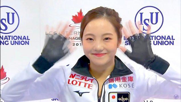 本田 真凜(ほんだ まりん)フィギュアスケート 2019年 スケートカナダ (2019 Skate Canada)