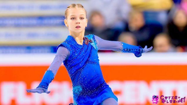 トゥルソワ(ロシア)フィギュアスケート 2019年 スケートカナダ フリースケーティング(Free skating)(2019 Skate Canada)