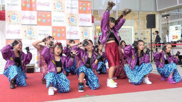 【4K】20190928 PUZZLE&UPPERS「まちなかキッズステージ」 in石川県金沢市・片町きらら広場