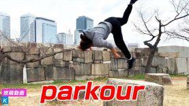 華麗!パルクール女子|parkour|投稿動画