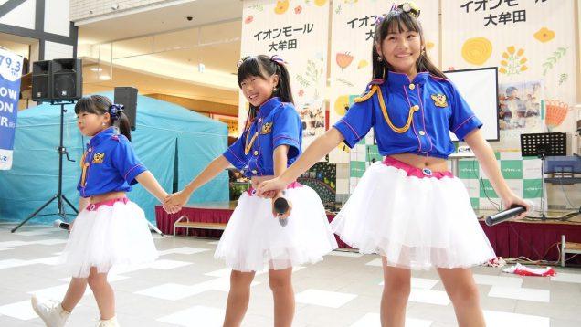 炭坑ガールズ[4K/60P]2019/10/20映画「いのちスケッチ」応援イベント in イオンモール大牟田
