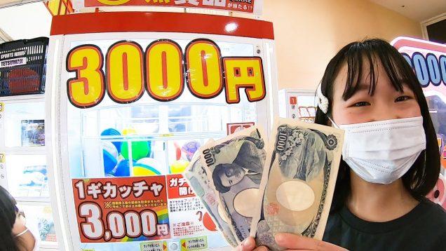 【伝説回】ゲーセンの1回3000円ガチャで出た景品がスゴすぎた!【しほりみチャンネル】