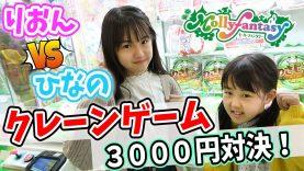 【クレーンゲーム】大物ゲット!?ひなのと3000円対決!