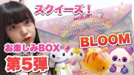 【第5弾】ブルームお楽しみBOX開封!【スクイーズ】