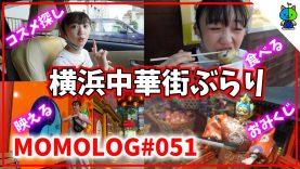 【vlog】?中国コスメを求めて横浜中華街をぶらり?モモログ#051【ももかチャンネル】