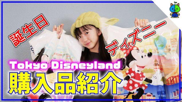 【購入品】誕生日ディズニーでゲットしたモノを紹介♪東京ディズニーランド【ももかチャンネル】