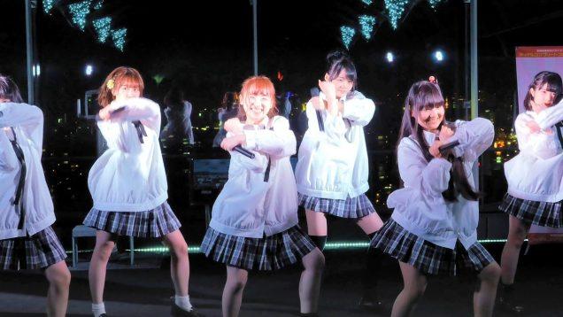 【4K】ミルキーベリー(ミルベリ)「ドロまみれの天使」札幌ドーム展望台 (18 03 21)