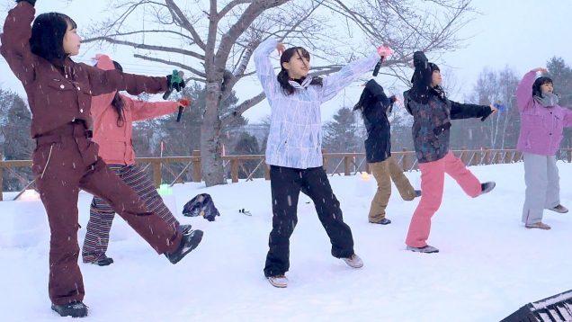 【4K】SNOW CRYSTAL(スノクリ)「メガロポリスの空」ユンニの湯 スノークリスタル (20 02 16)