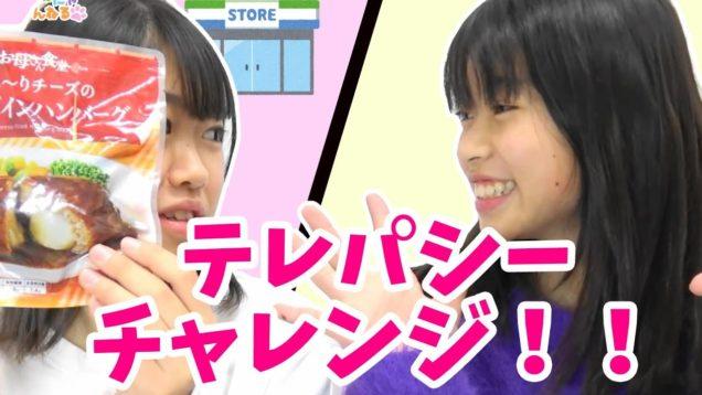 テレパシーチャレンジ【コンビニお買い物編】成功めざせ!にゃーにゃちゃんねるnya-nya channel