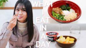 高校生モデルの1日の食事公開します~What I eat in a day【安村真奈】