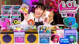 DJになっちゃう?!L.O.L.サプライズ!リミックスヘアフリップとペットを開封!音楽が流れるサプライズ?!【L.O.L.サプライズ】