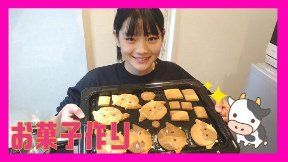 ღ初ღ【お菓子作り企画】牛さんクッキー作りに挑戦