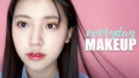 【毎日メイク】前髪は女子中高生の命です♡大人っぽ高校生モデルの毎日メイク