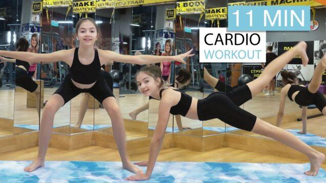 11 MIN Full Body Workout – Beginner Version // No Equipment // Danatar GYM