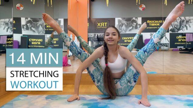14 MIN Stretching Workout with Danatar GYM