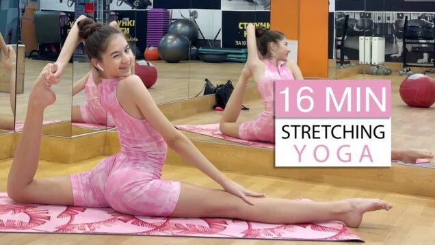 16 MIN Stretching YOGA from Danatar GYM