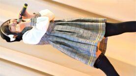 """越谷ご当地アイドル【4K/a7ⅲ】クロワッサン(Japanese idol group""""Croissant"""")アイドル&クリケット at 佐野市国際クリケット場 2021年3月13日(土)"""