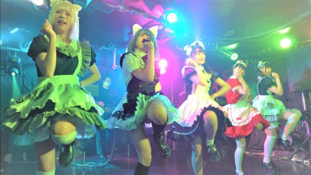 "【4K/a7ⅲ】LUVネオガールズウェイブ(Japanese idol group ""LUV NEO GIRLS WAVE"")「キミにしかチョコあげない~バレンタイン無銭~」2021年2月14日(日"