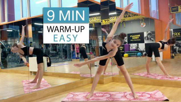 9 MIN Easy Warm-Up from Danatar GYM