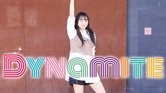 【BTS】恋彩が本気でDynamite踊ってみた! Dance Cover