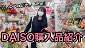 【DAISO/100均】即完売するあの商品を買ってきました!! 「ダイソー購入品紹介」
