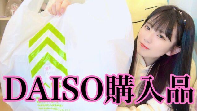 【DAISO/100均】ダイソーで買った購入品紹介!まさかの動画中ダイソーに買い物w