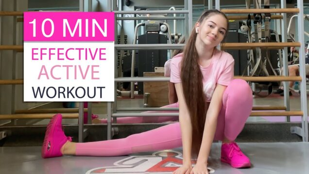 Effective 10 Minute Active Workout from Danatar GYM