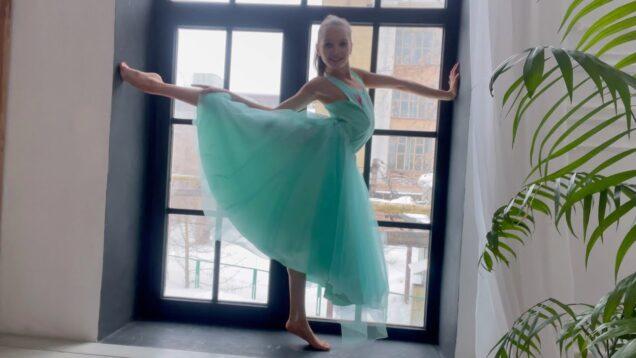 Gymnastic Choreographic Improvisation #6 from Tina