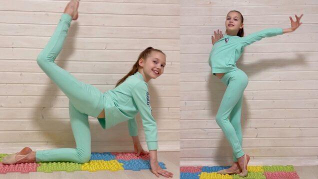Gymnastic Improvisation & Easy Warm-Up from Tina