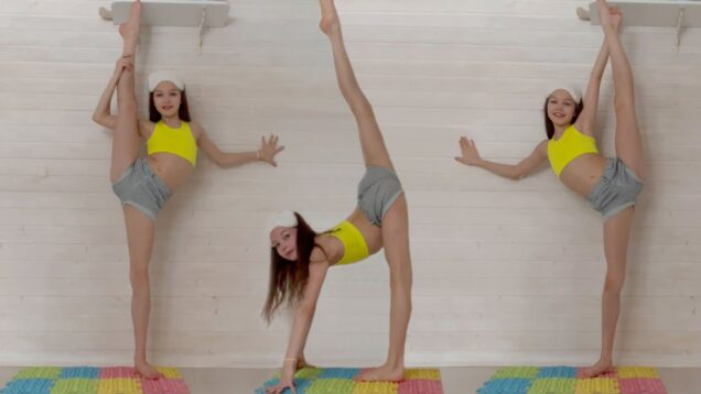 Home Easy Gymnastic Warm-Up from Tina