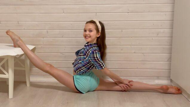 Home Gymnastic Choreographic Improvisation from Tina