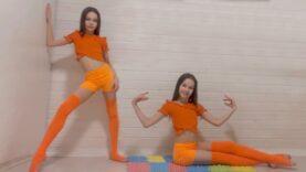 Home Gymnastic Improvisation from Tina