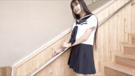 【 現役中学生のセーラー服 】姫華JC2 学校で撮影しました==\(^^)/