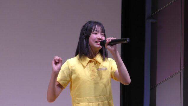 柏結菜(JC3・Si☆4)/笑顔(2020.6.20)@渋谷アイドル劇場