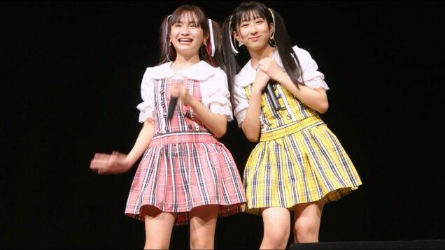 櫻井佑音 & 野乃あいみ 東京アイドル劇場mini@YMCAスペースYホール  2021年3月28日