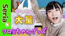 【セリア】大好きなクロミちゃんのコスメたくさん見付けたよ!!アオリのテンション爆上げ♪クロミちゃんしか勝たん!!