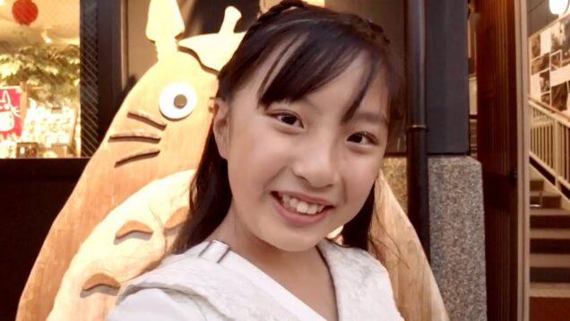 小学生YouTuber 唯花(ゆいな)js5 川越を散歩しました。自撮りーー(*ˊᗜˋ*)/♡