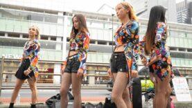 固定【4K/a6600】Tiiigirl(ティーガール) 新宿駅南口 路上ライブ 2020/10/03