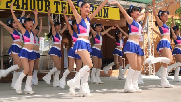 【4K】チアドラキッズ「キッズダンス①」2019年08月24日@24時間テレビ