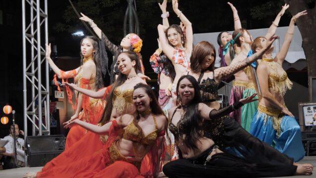 [Belly dance] 妖艶!ベリーダンス 麻布十番納涼まつり2019 ③ [4k60p]