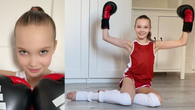 From Gymnast to Boxer / Comic video / Tina